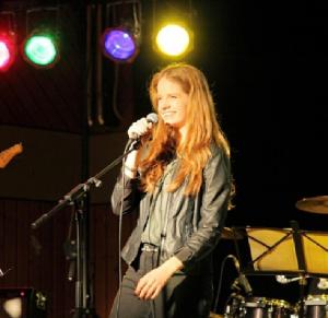 Katharina auf der Bühne